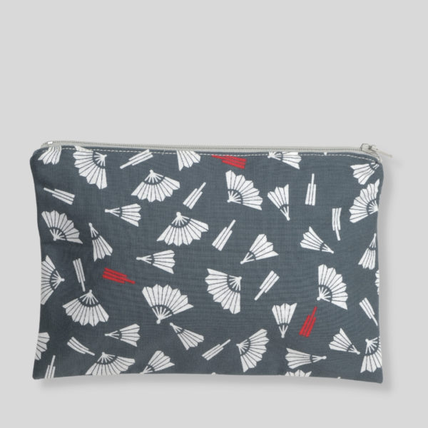 trousse zippee eventails